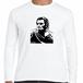 ガイウス・ユリウス・カエサル 古代ローマ 英雄 歴史人物ロングTシャツ090