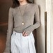 スリムウールライトセーター ・2151