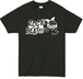 ROCK BEAT Tシャツ【BLACK×WHITE】