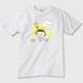 【売上利益全額を寄付】3月11日を忘れんためにシリーズ2016 大人用Tシャツ りんこAタイプ メンズTシャツ雪色 トナー熱転写