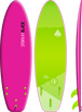 Storm Blade 6ft3 Squash Tail Surfboard / Pink