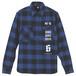 SIXXX Flannel shirts [blue]