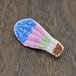 ゆる刺繍ブローチ【気球】