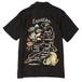 """SKA SHIRT - NUDE MAP <ART WORK by Rockin' Jelly Bean>""(BLACK) /  RUDE GALLERY"