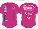 V9チャンプ記念Tシャツ2020『ホットピンク 』O社製