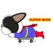 Superwanステッカー 【フレンチブルドッグ】 犬 ステッカー シール