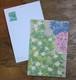 コラージュポストカード 夏の花6種