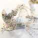 宝石竜姫 【青白銀色の星翼のダイヤモンド】飾りツノ