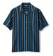 FTC / BRITISH STRIPE SHIRT -BLACK-