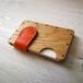 a card case オーク×オレンジ 無垢材と本革の名刺入れ | 木で作ったナチュラルでおしゃれな名刺入れ tackle wood design