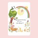 ポストカード new baby カード(英語)