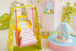 *飾れる紙玩具*花の国のお姫さま(フルセット)