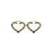 【GF2-8】gold filled heart earring