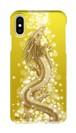 【iPhoneシリーズ】Golden Dragon of Abundance 豊かさの金龍 ツヤありハード型スマホケース