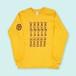 Brian DeGraw × WISH LESS/SOLARIUM DEMOS T-shirt (GOLD)