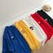 洋服 大人気 カジュアル 刺繍 ラウンドネック 夏 半袖 Tシャツ・トップス