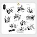 帯なし手帳型スマホケース iPhone X/XS