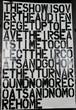 Christpher Wool + Felix Gonzalez-Torres 1993