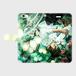 ▪️iPhone6plus/6Splus用 Kane Dennis × Atelier Lapinus コラボ 手帳型スマホケース タイムグリーン 手帳型