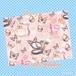 ピンク系コスメ柄デザインペーパー 10枚入り