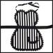 ミニレースエプロン♥(stripe)