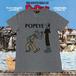 Tシャツ ポパイ BitterEnder/POPEYEコラボFLOWER- Tシャツ ユニセックス