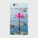 アンコールワットの蓮の花 側表面印刷スマホケース iPhone6Plus/6sPlus ツヤ有り(コート)