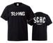 S.C.H.C LOGO : 1【T-SHIRT : 黒ボディ】