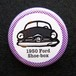 1950 Ford 2door sedan Shoebox 缶バッジ