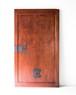 欅玉杢の蔵戸