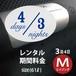 3泊4日 リモワ・クラシックM(61ℓ) エイジング仕様 期間料金