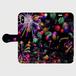 (iPhoneX サイズ)手帳タイプ:花火の宇宙(KAGAYA)