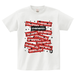 avenomix / STARS MULCH BOX-LOGO T-SHIRT WHITE x RED x BLACK