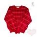 赤いセーター〔Roberta di Camerino〕