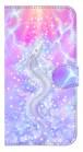 【iPhoneX/Xs/XR/11/11pro/11proMax】 Rainbow Dragon 輝く虹の昇り龍 手帳型スマホケース