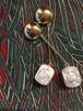 Vintage Acrylic parts pierce/earring