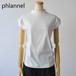Phlannel sol/フランネル ソル・Light Suvin Cotton French-Tee