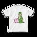 Ally & Fuzzy Happy T-Shirts (White)