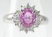 【ジュエリーマキ】ピンクサファイア ダイヤリング プラチナ ~【Jewelry Maki】 Pink Sapphire Diamond Ring Platinum~