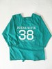"""ULTRA HEAVY 別注  """" KIDS """"  Football coverall Apron/Turquoise[ジェリー鵜飼氏 デザイン]予約販売"""