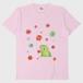 がおと花降るTシャツ/ライトピンク/送料無料