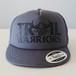 【販売終了】Short Visor Trucker Mesh Cap / TW / Gray / Gray / Black