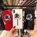 ORIGINAL バラ iPhoneXカバー 可愛い iphone7plus ジャケットケース 強化ガラス アイフォン6s プラス 保護ケース ゴージャス 女子向け