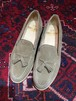 .SANDERS SUEDE LEATHER TUSSEL LOAFER/サンダーススウェードレザータッセルローファー 2000000031385