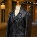 70's MOSCOT LEATHER RIDERS JACKET