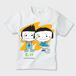 【売上利益全額を寄付】3月11日を忘れんためにTシャツシリーズ りんとりんこ お肌にやさしいガーメントインクジェット印刷キッズT