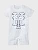YH Mets ロンパース (WHT×NVY)
