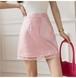 3色/スパンコール裾シアースカート ・16047