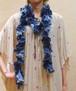 【アメリカ製古着】極細レース ニット糸の手編み◆ラリエット
