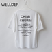 WELLDER/ウェルダー・Crew Neck T-Shirt Chimi Churri